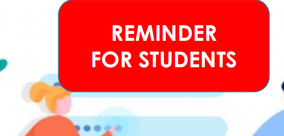 Reminder for students.png